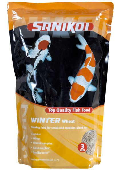 SaniKoi Visvoer Winter Wheat Germ 3 mm 3000 ml