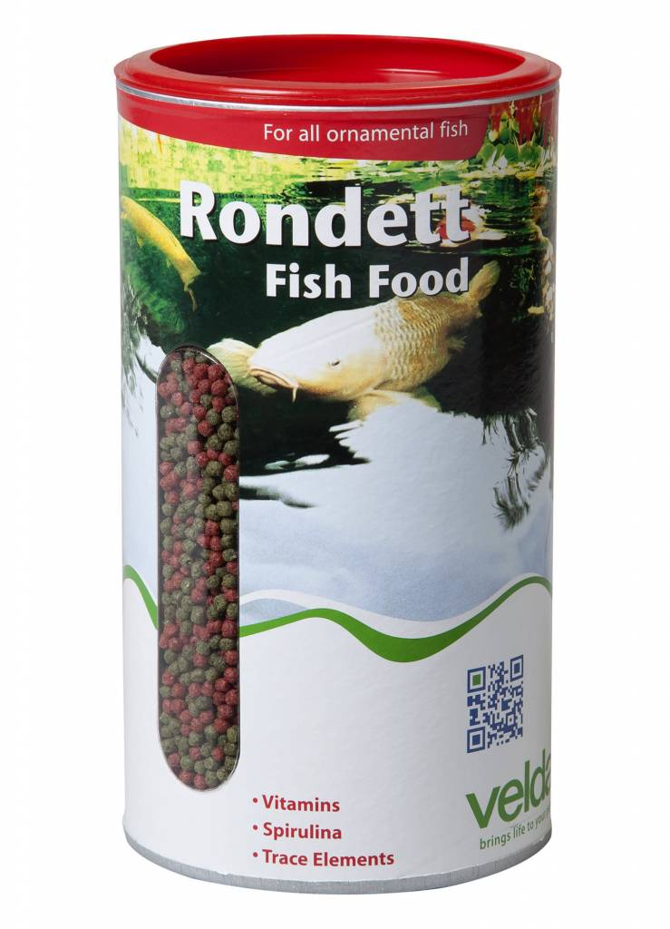 Velda Rondett Fish Food 4000 Ml 1350 gram