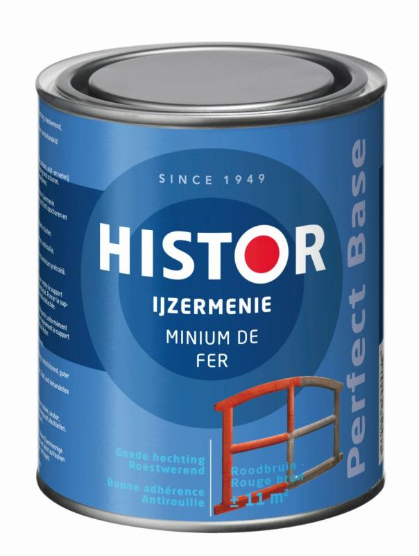 Histor IJzermenie Perfect Base Roodbruin 750 ml