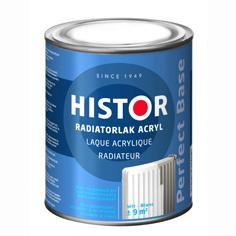 Histor Radiatorlak Perfect Base Acryl Wit 250 ml