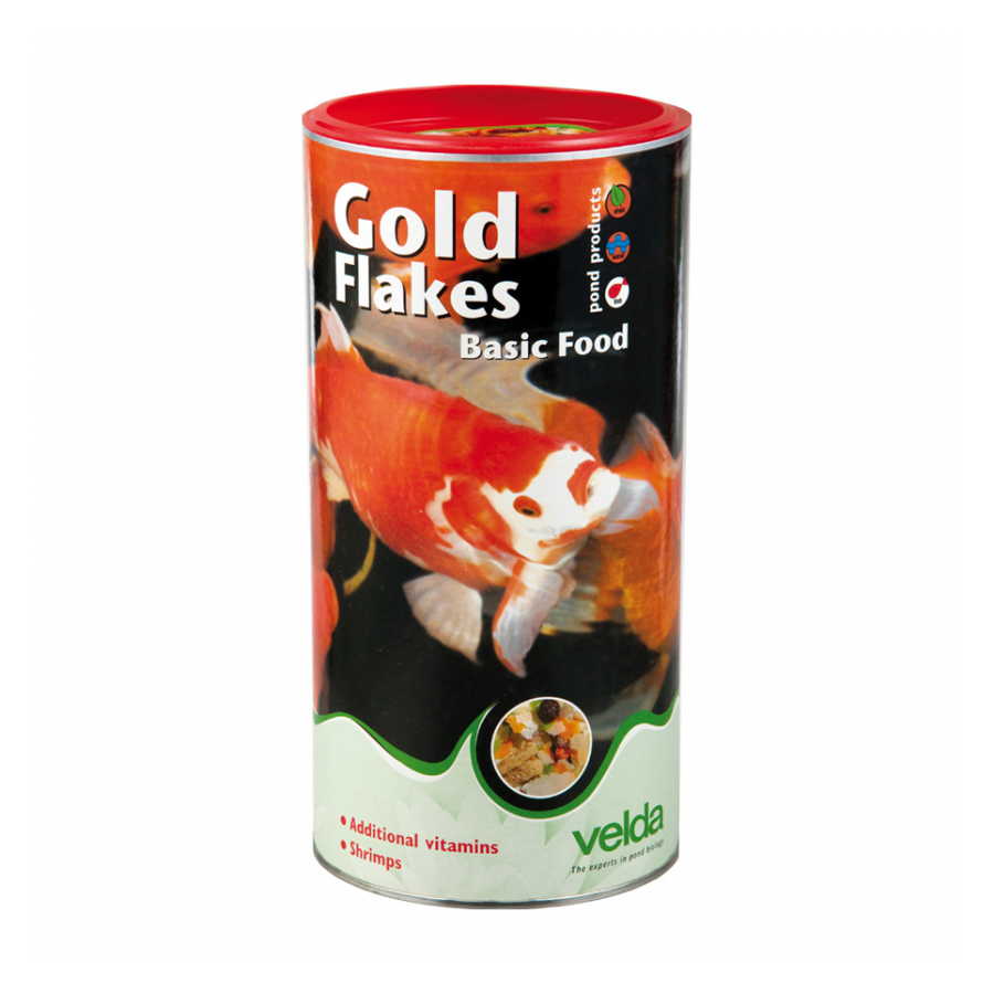 Velda Visvoer Gold Flakes 2500 ml