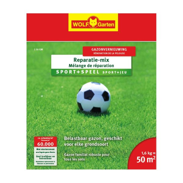 Wolf Garten Reparatie Mix Sport & Speelgazon L 50 GM